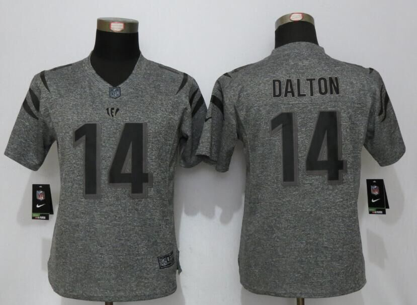 womens-cincinnati-bengals-14-dalton-gray-stitched-gridiron-gray-new-nike-limited-jersey