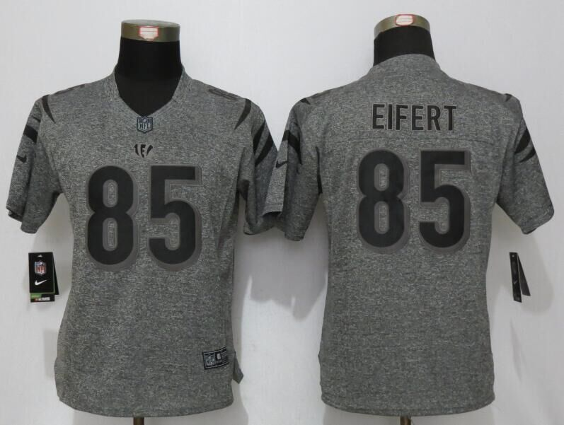 womens-cincinnati-bengals-85-eifert-gray-stitched-gridiron-gray-new-nike-limited-jersey
