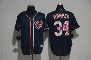 2017-mlb-washington-nationals-34-harper-blue-fashion-edition-jerseys