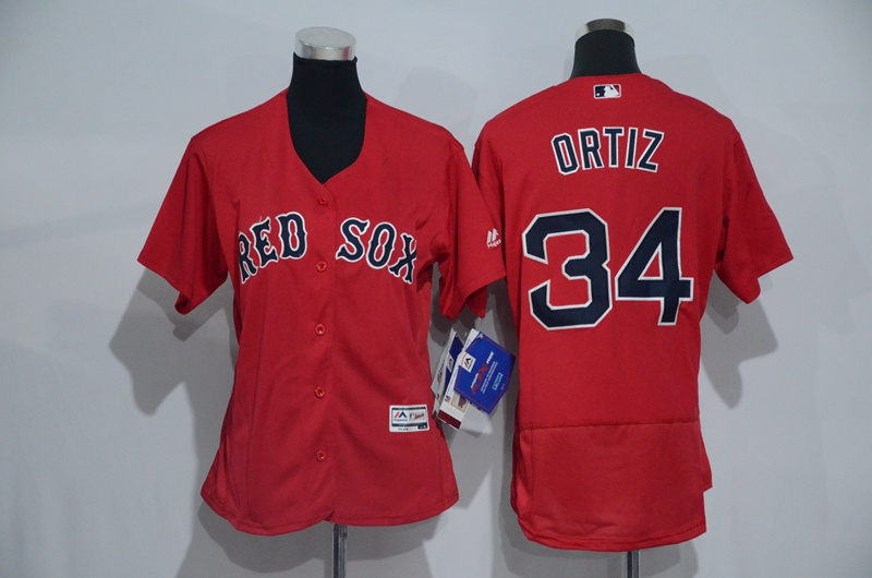 womens-2017-mlb-boston-red-sox-34-ortiz-red-elite-jerseys