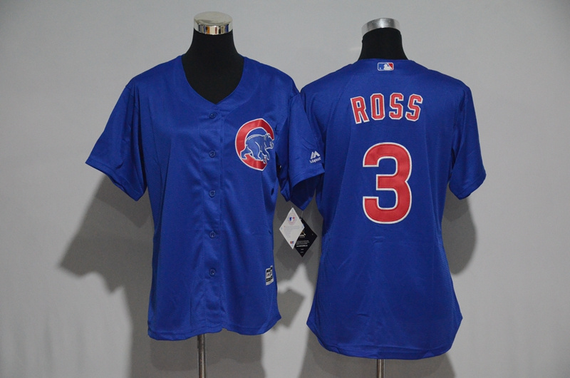 womens-2017-mlb-chicago-cubs-3-ross-blue-jerseys