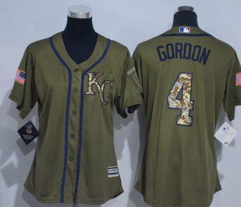 womens-2017-mlb-kansas-city-royals-4-gordon-green-salute-to-service-stitched-baseball-jersey