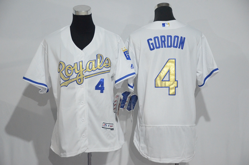 womens-2017-mlb-kansas-city-royals-4-gordon-white-gold-elite-jerseys