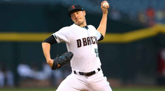 Diamondbacks tab lefty Patrick Corbin for opening day start against Rockies