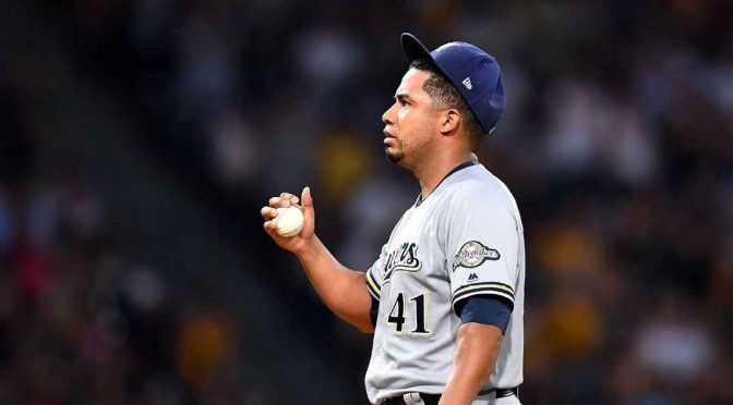 Brewers ship 2017 Opening Day starter Junior Guerra to minors