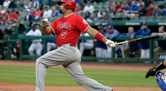 Albert Pujols is feeling good and hitting well for the Angels