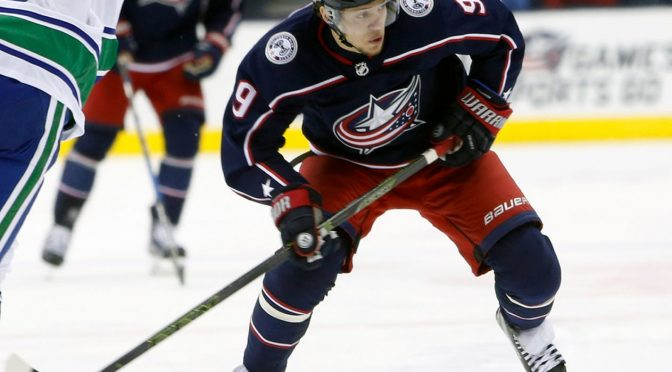 'Bread' is the man in playoff surge for the Blue Jackets